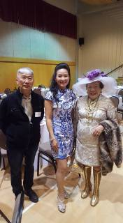 Jim Wong-Chu, Esaine Mo Verney, and Faye Leung