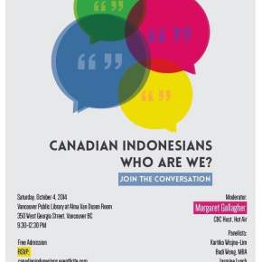 Community Cafe: Canadian Indonesians – Who Are We?