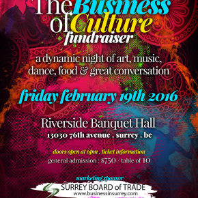 The Business of Culture Fundraiser – Vancouver International Bhangra Celebration Society