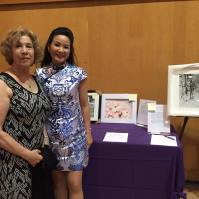 Silent Auction workers Marlene and Esaine