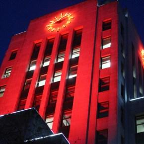 Illumination of Vancouver City Hall