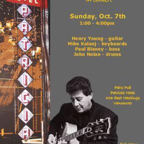 Henry Young Quartet in Concert
