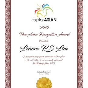 2019 Pan-Asian Recognition Award Winners