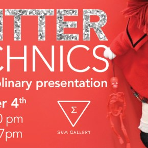 Glitter Technics interdisciplinary presentation
