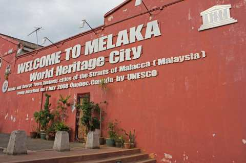 A Stroll In Historical Malacca, Malaysia