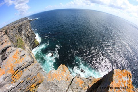 Dun Aengus cliffs
