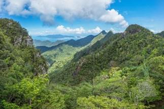 View to Koh Tarutao (Thailand) on the horizon