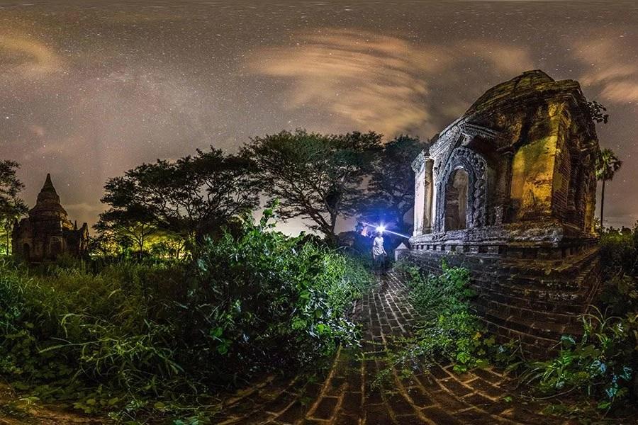 Bagan by Night