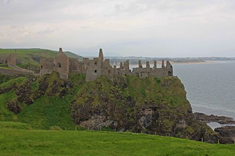 The Picturesque Dunluce Castle, Northern Ireland