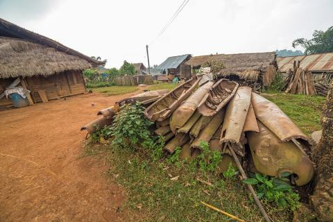 """""""Bomb Village"""": From Killing Devices to Construction Materials, Laos"""