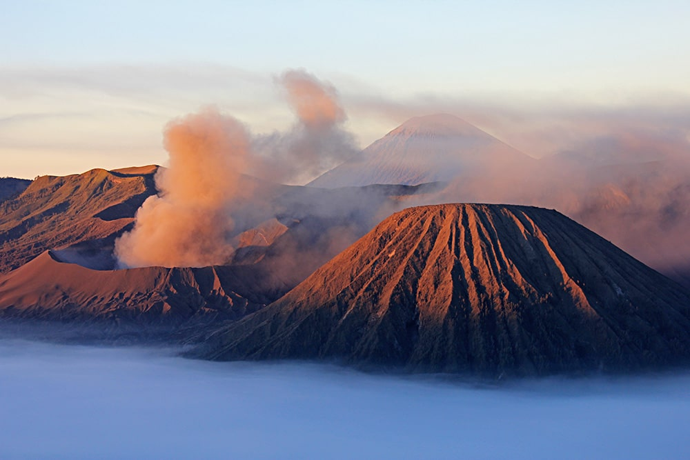 Sunrise on Mount Bromo