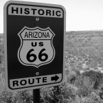 Driving Route 66 – Petrified Forest to Winslow, Arizona