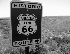 Route 66 Sign. Arizona