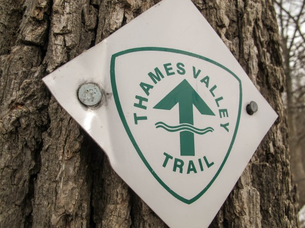 Thames Valley Trail Sign