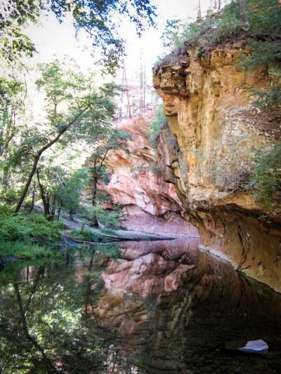 West Fork of Oak Creek Arizona