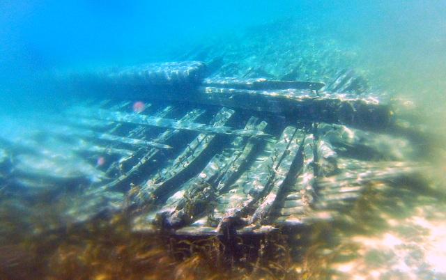 John Walters Shipwreck