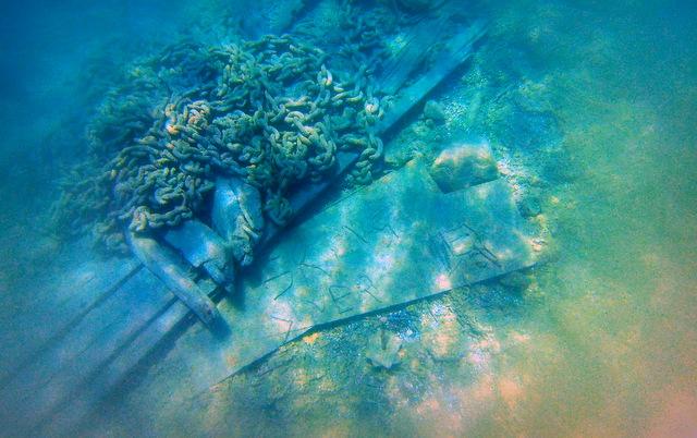 W.L. Wetmore Shipwreck