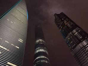 Shanghai skyscrapers . Jin Mao Tower
