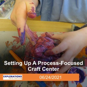 Setting Up A Process-Focused Craft Center