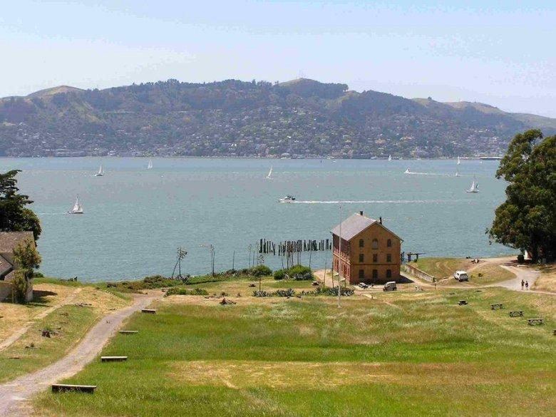 Angel Island - ExplorationVacation P5300135 grounds
