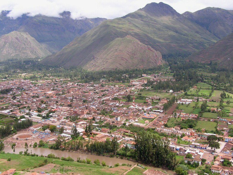 Peru - ExplorationVacation P1010100 Pisque River valley