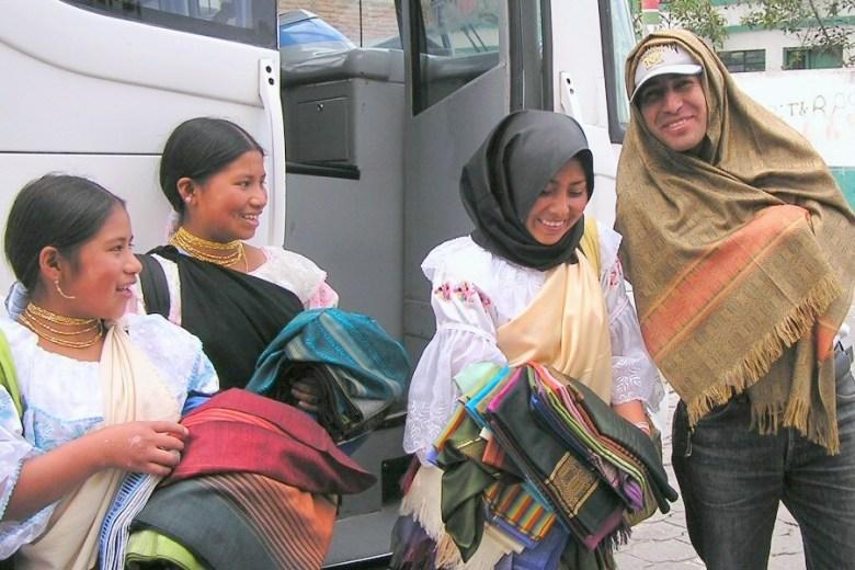 Otavalo Ecuador - ExplorationVacation P1010094 girls - not loaded