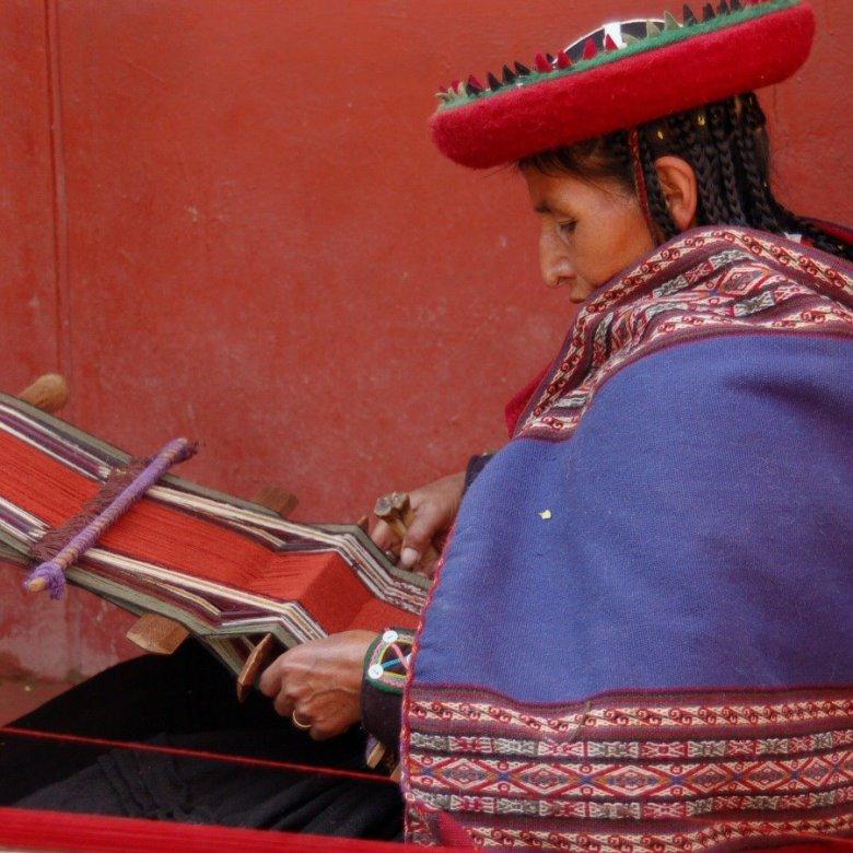 Weaving in Peru - ExplorationVacation 2006-01-01_09_42_53