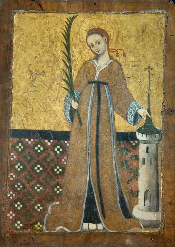 Icon of Saint Barbara -