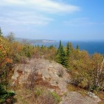 view of shovel point fro palisade head