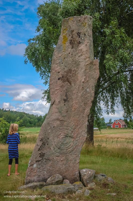 Standing stones Sweden - explorationvacation