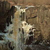 Pigeon River falls at Grand Portage