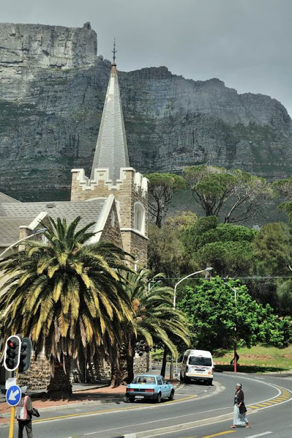 church and Table Mountain