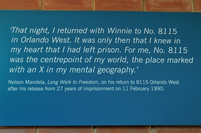 Nelson and Winnie Mandela home in West Orlando, Soweto, South Africa - ExplorationVacation.net