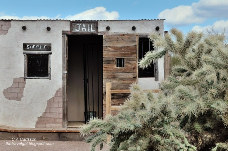 Jail Superstition Mountain Museum Arizona @www.ExplorationVacation.net