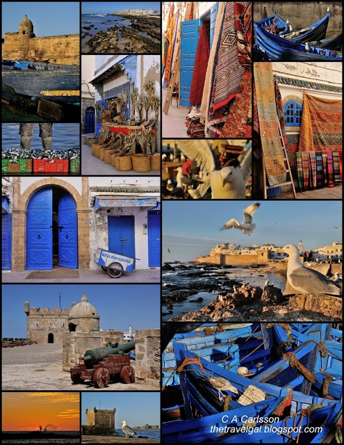 Essaouira collage