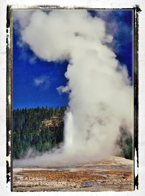 Old Faithful Yellowstone National Park - www.ExplorationVacation.net