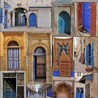 The Doors of Essaouira, Morocco