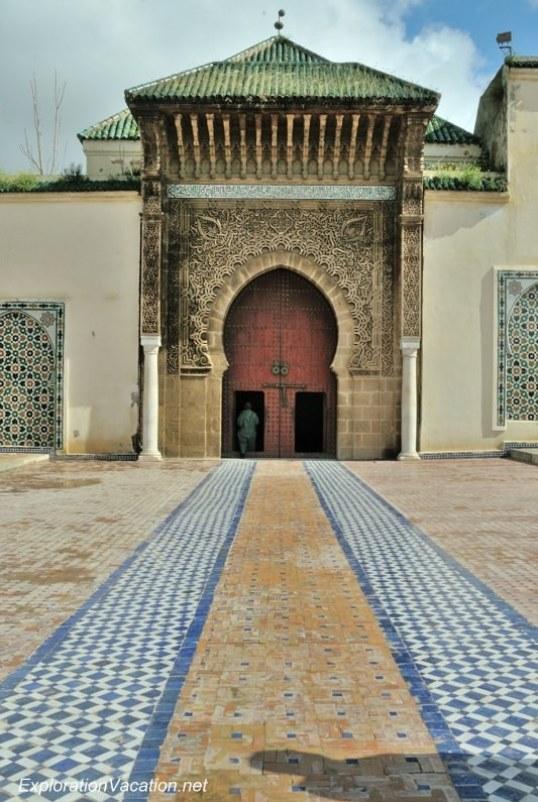 Mausoleum of Moulay Ismael Mekness Morocco DSC_0778