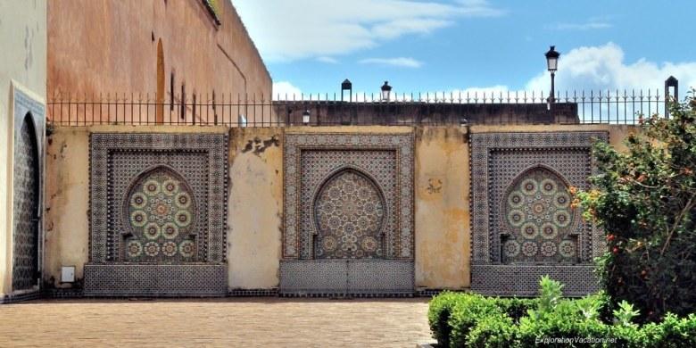 Mausoleum of Moulay Ismael Mekness Morocco DSC_0838