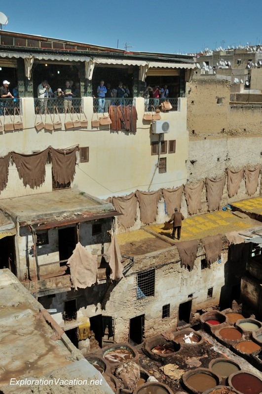 Tannery in Fes Morocco -4