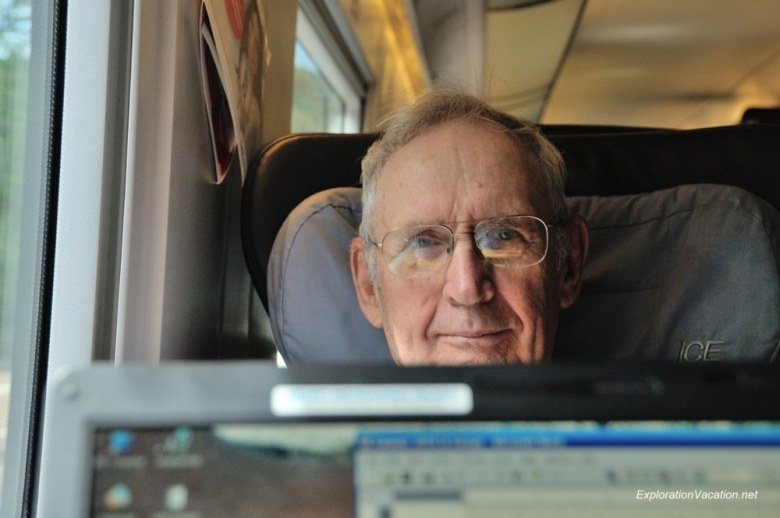 dad 2010 DSC_5718 on the train in Germany