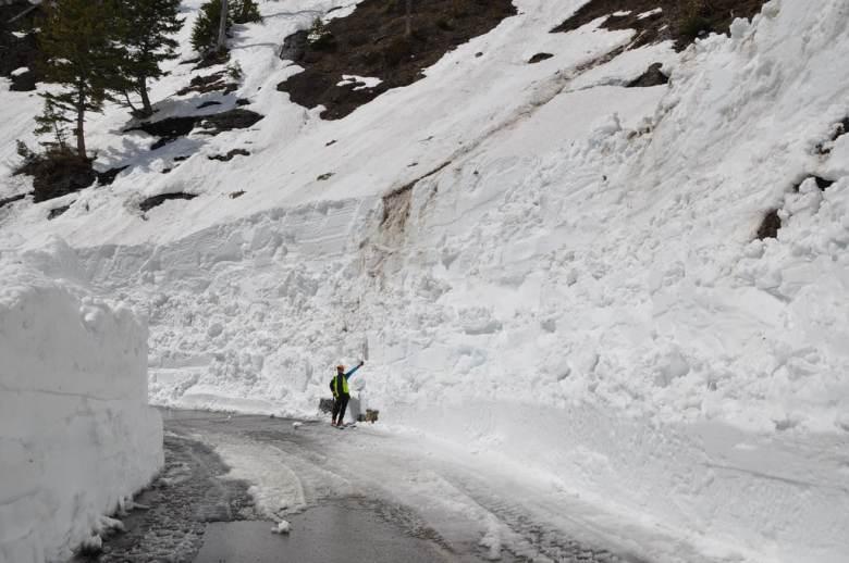 Glacier National Park - 3 snow in Little Granite area 4-30  14083992515_2afc7854b6_b