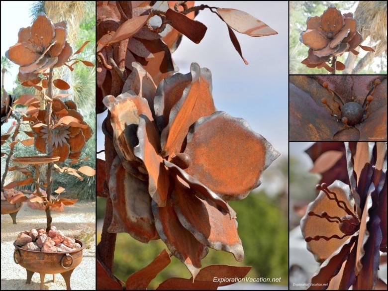 Shemer Center for the Arts Phoenix Arizona 16  flower mosaic