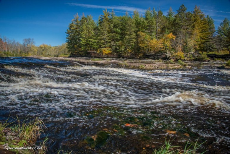 Fall at Banning State Park in Minnesota - ExplorationVacation.net