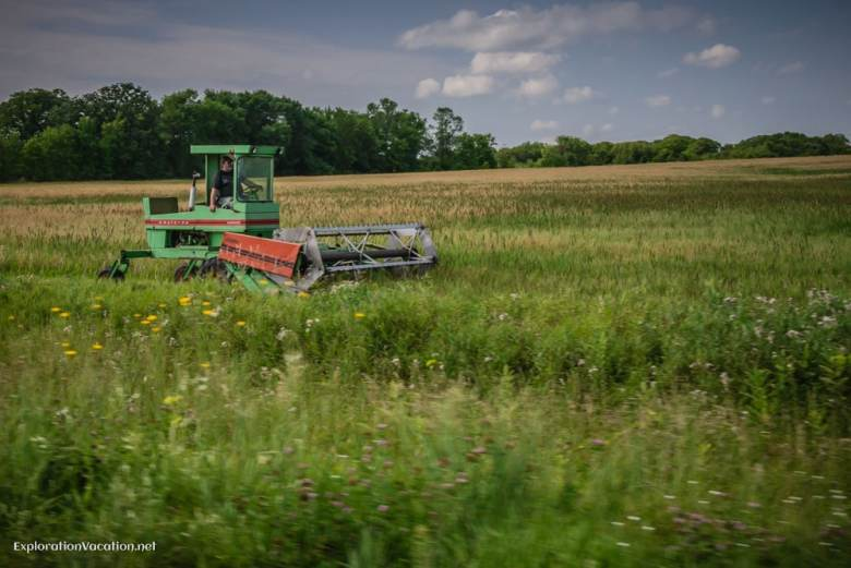 modern farming in Amish country- ExplorationVacation.net