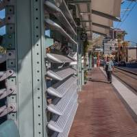 Downtown Phoenix Light Rail stop - www.ExplorationVacation.net
