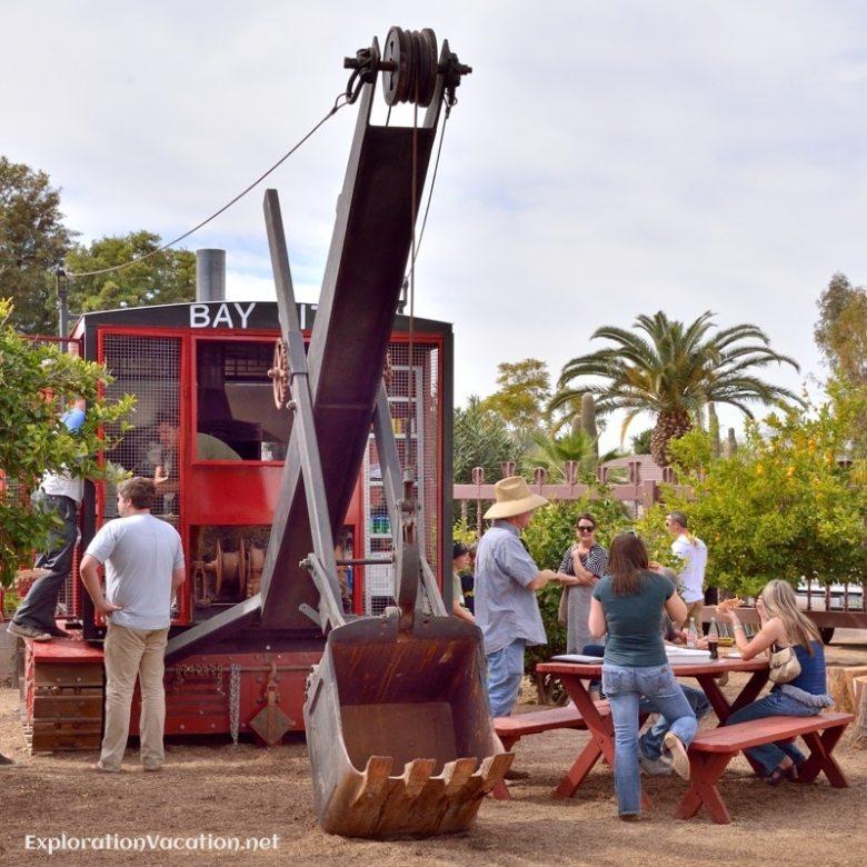 Micro-Dwell at the Shemer Scottsdale Arizona - Pizza shovel 14 - 2 ExplorationVacatio 20140216-DSC_5977