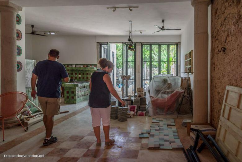 Merida Mexico house tour in house under construction- 2 ExplorationVacation 20141125-DSC_8264