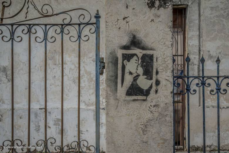 Street art in Merida, Mexico - ExplorationVacation.net