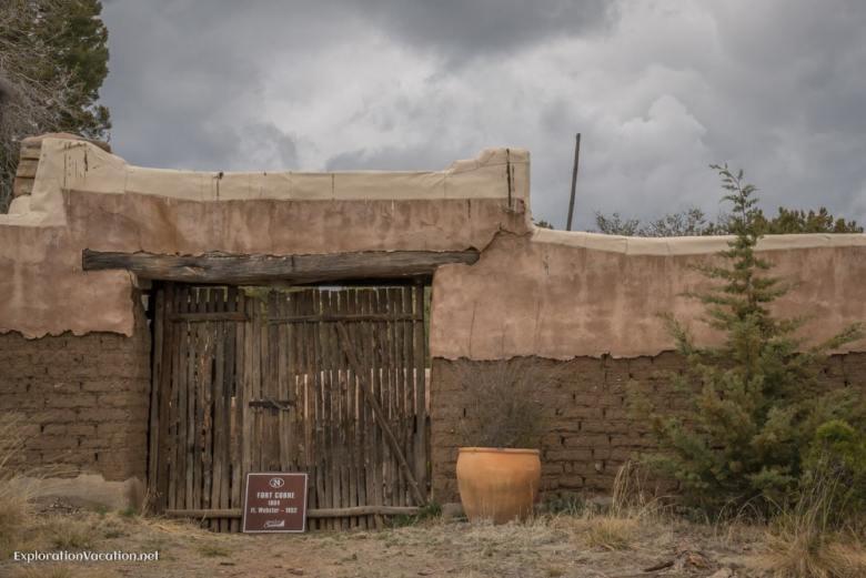 historic fort in Pinos Altos New Mexico - ExplorationVacation.net